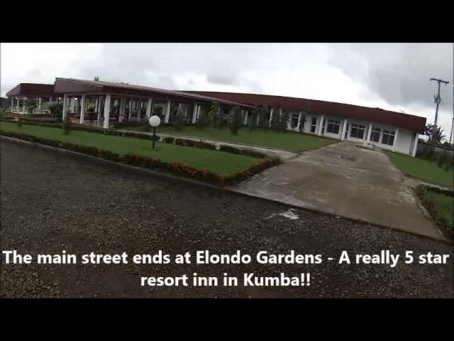 Alaska Street, Kumba. Travel Video