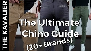 The Complete Chino Buying Guide - 20 Brands from H&M, Uniqlo, Gap, Bonobos and more