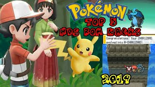 Top 5 Completed Pokemon Nds Rom Hacks with Mega Evolution 2019! (Android/PC)