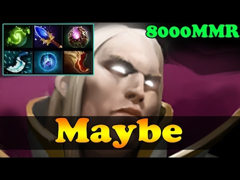 Maybe 8000 MMR Plays Invoker Vol 5 - Ranked Match Gameplay - Dota 2