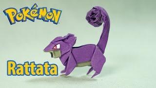 Paper Pokemon - Origami Rattata - コラッタ tutorial (Henry Phạm)