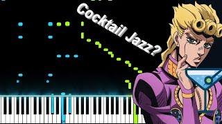 """""""Giorno's Theme"""" (Jazz Version) - JoJo's Bizarre Adventure: Golden Wind OST (Piano Synthesia)"""