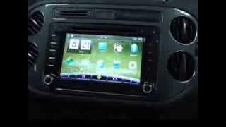 Штатное головное устройство Volkswagen Polo Sedan, Tiguan, Passat Redpower 15004 ANdroid.(Штатное головное устройство Android 4.1 redpower. Отображены в видео особенности работы, показана совместимость..., 2013-09-26T11:32:25.000Z)