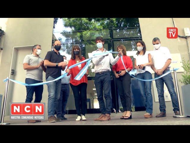 CINCO TV - Juan Andreotti inauguró un nuevo edificio de Economía y Obras Públicas