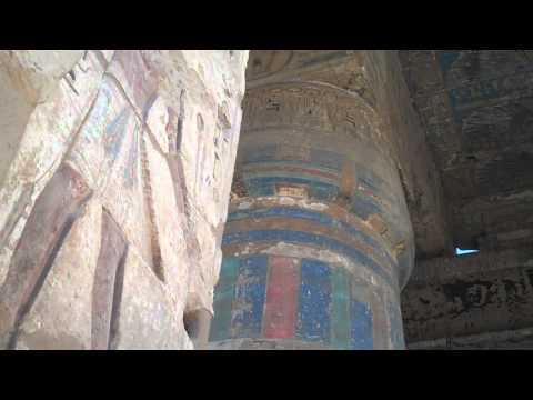 Medinet Habu - Sacred Temple of Ramses III