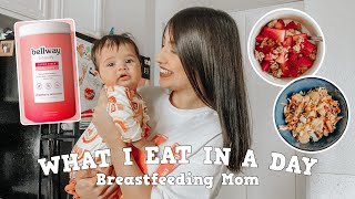 WHAT I EAT IN A DAY AS A BREASTFEEDING MOM
