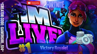 [LIVE] FORTNITE ITEM SHOP COUNTDOWN *CODE: GamerGirl_514* | BEST FORTNITE GIRL GAMER