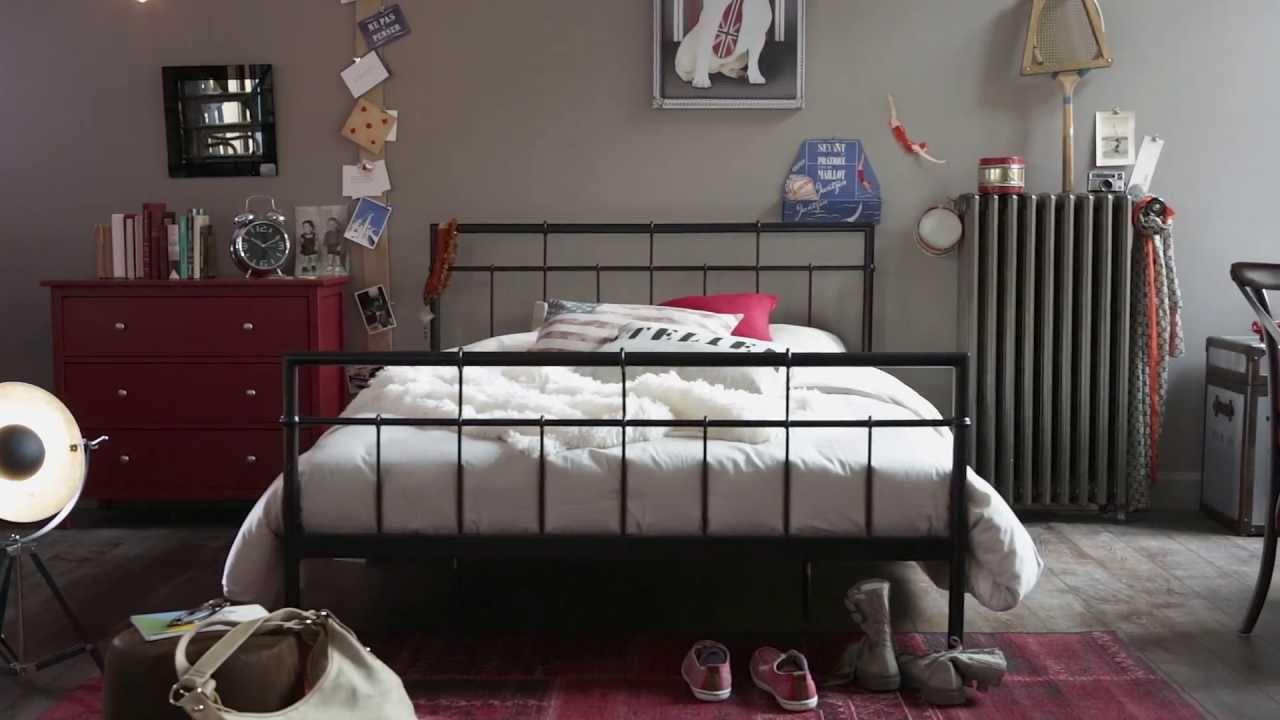 Une chambre authentique et dans l'air du temps - Catalogue BUT ...