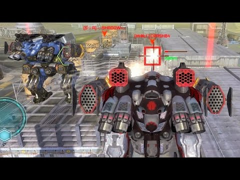 War Robots Gameplay - The Perfect Teamwork Example (w/Griffin)