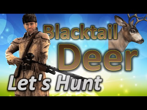 theHunter Let's Hunt BLACKTAIL DEER (Holiday 2015 mission for .308 included)