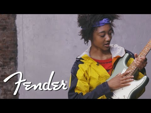 Melanie Faye Demos The Player Series Stratocaster®  Fender