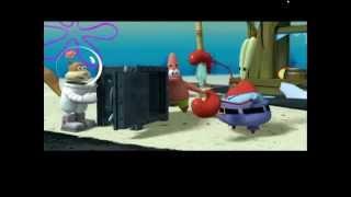 Губка боб Квадратные Штаны: Планктон Месть Роботов Обзор как  Мультик и Игра