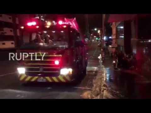 New Zealand: Wellington damaged in aftermath of 7.8M earthquake
