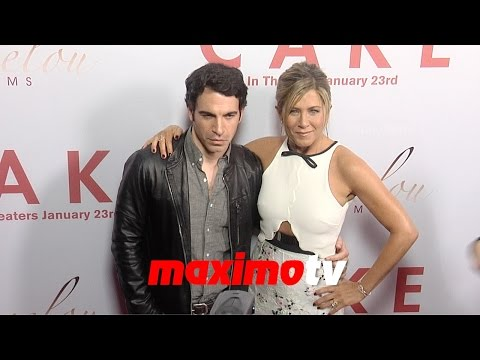 Jennifer Aniston, Chris Messina CAKE Los Angeles Premiere Arrivals