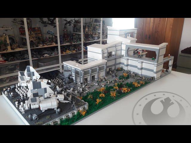 Lego Star Wars New Republic Outpost Moc
