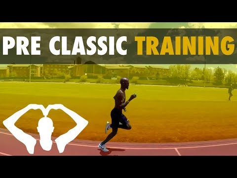 Final Training Session Before Pre Classic 2017 | Mo Farah