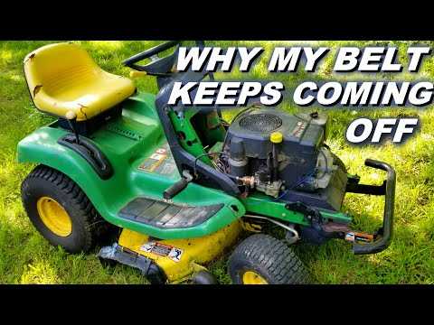 Why My Mower Keeps Throwing Deck Belts.