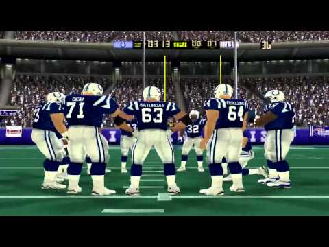 Madden NFL 2004: Steelers vs Colts Part 2 [HD]