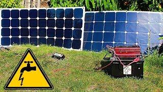 ✅Солнечная электростанция своими руками 💡 Подробная инструкция сборки !/✅DIY solar power station