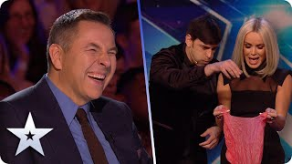 MYSTERIOUS mind reading MENTALIST or COMEDY genius?! Meet Lioz Shem Tov! | BGT 2020