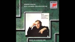 バッハ - ゴールドベルク変奏曲 BWV.988  グールド 1981