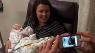 Repeat youtube video Natural Birth of the Trama Triplets.