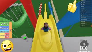 I'm going to Aquaparc. ROBLOX Water Park