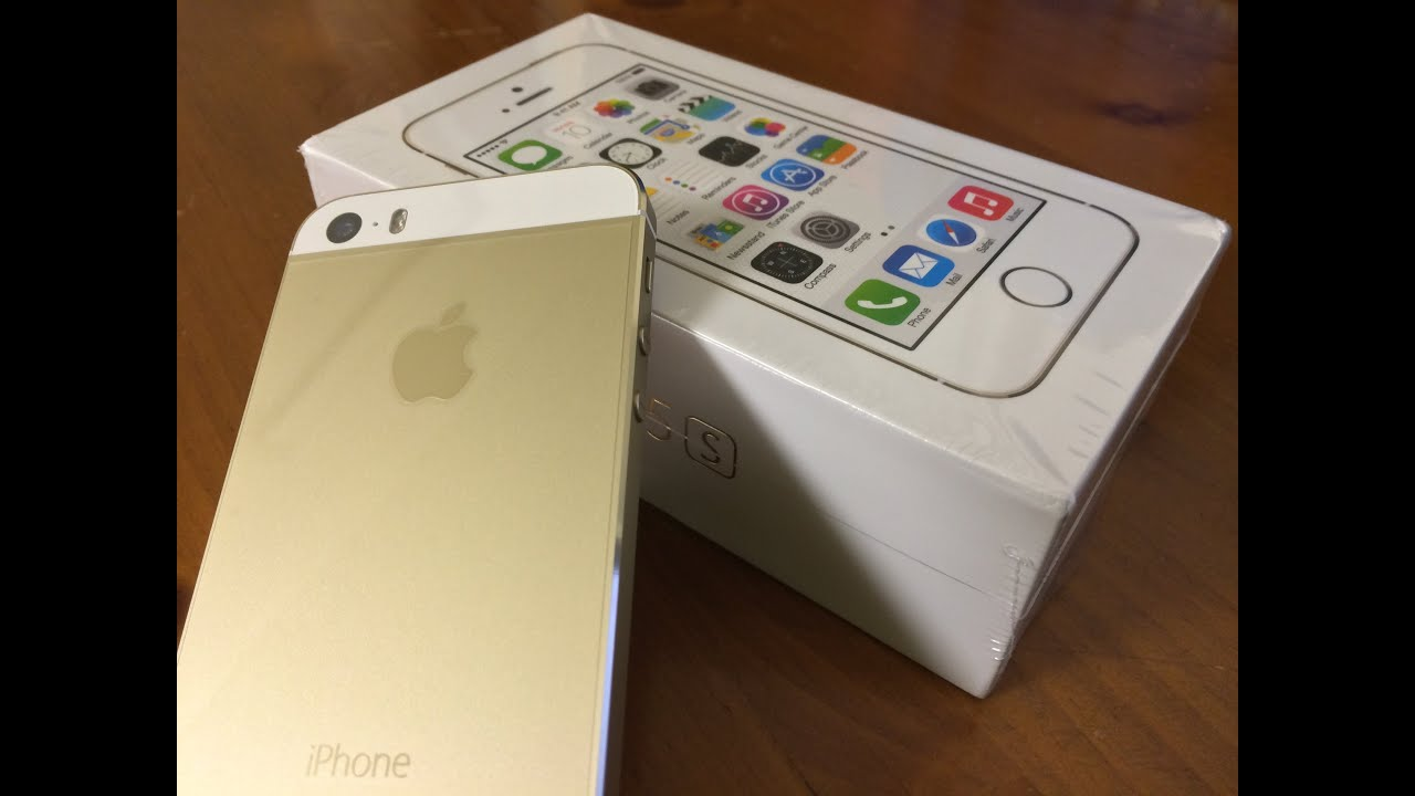 unboxing iphone 5s gold edition 16gb youtube. Black Bedroom Furniture Sets. Home Design Ideas