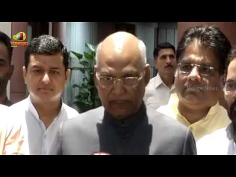 Ram Nath Kovind After Filing His Nomination For Presidential Election 2017 | Mango News
