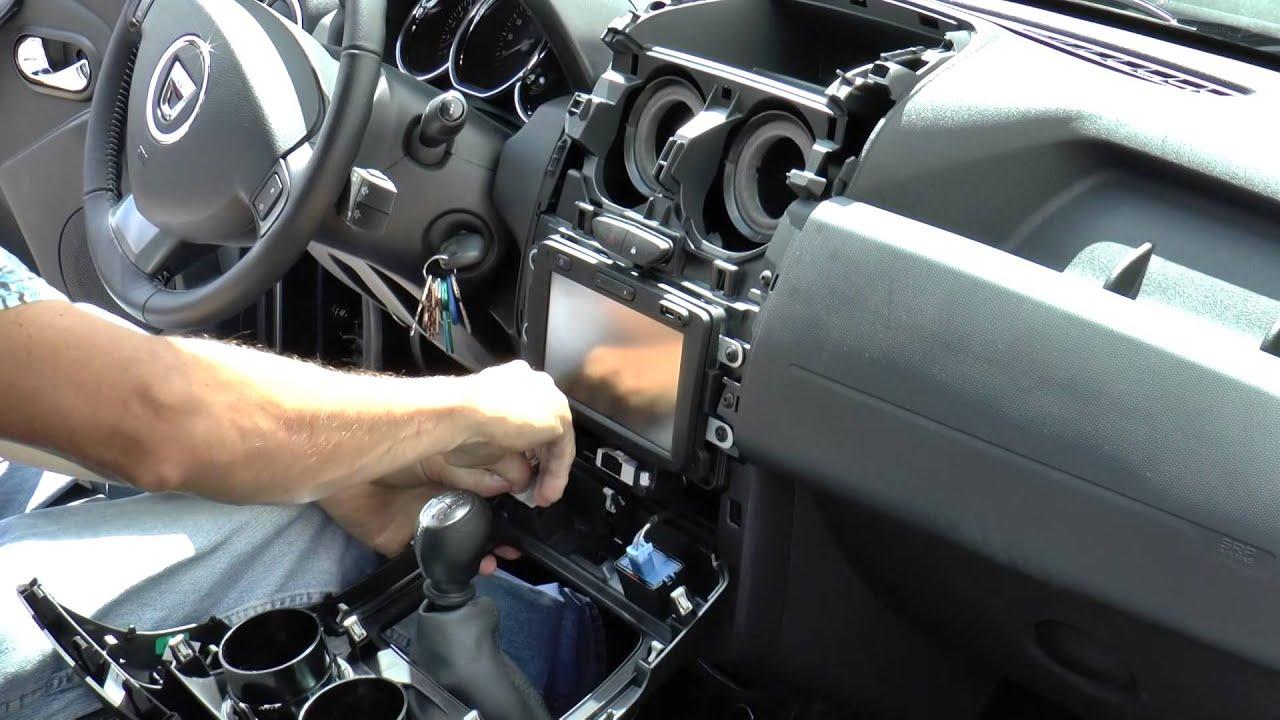 Audio Cable Wiring Diagram R 252 Ckfahrkameraeinbau Dacia Duster Mit Media Nav Youtube