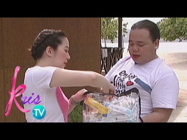 Kris TV: Kris' first aid kit