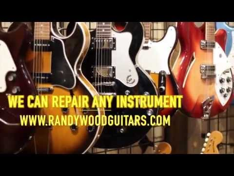 About Randy Wood, Luthier (Randy Wood Guitars & Music Store)