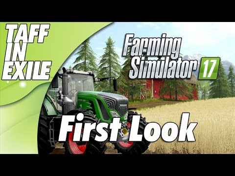 Farm Simulator 17  - GoldCrest Valley  - First Look!