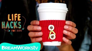 DIY Drink Sweater + More Groundhog Day Hacks | LIFE HACKS FOR KIDS