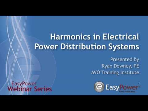 Harmonics In Electrical Power Distribution Systems