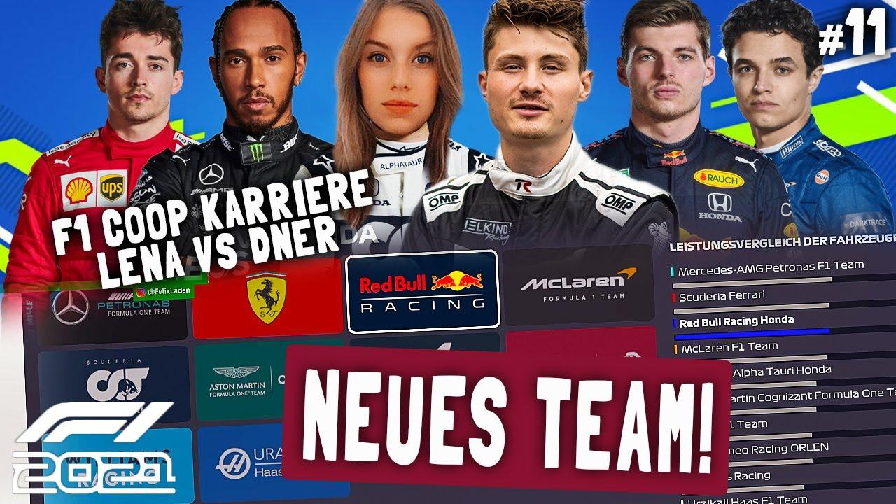Download WIR WECHSELN TEAMS | F1 2021 Koop Karriere #11 | Lena & Dner