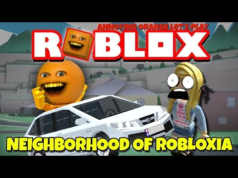 Annoying Orange Plays - ROBLOX: Neighborhood of Robloxia!