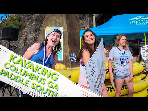 Kayaking In Columbus GA- Paddle South: Wild And Free Tour Vlog Series