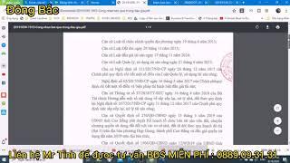 Hồ sơ pháp lí về căn hộ chung cư Hà Nội phoenix tower Cao Bằng