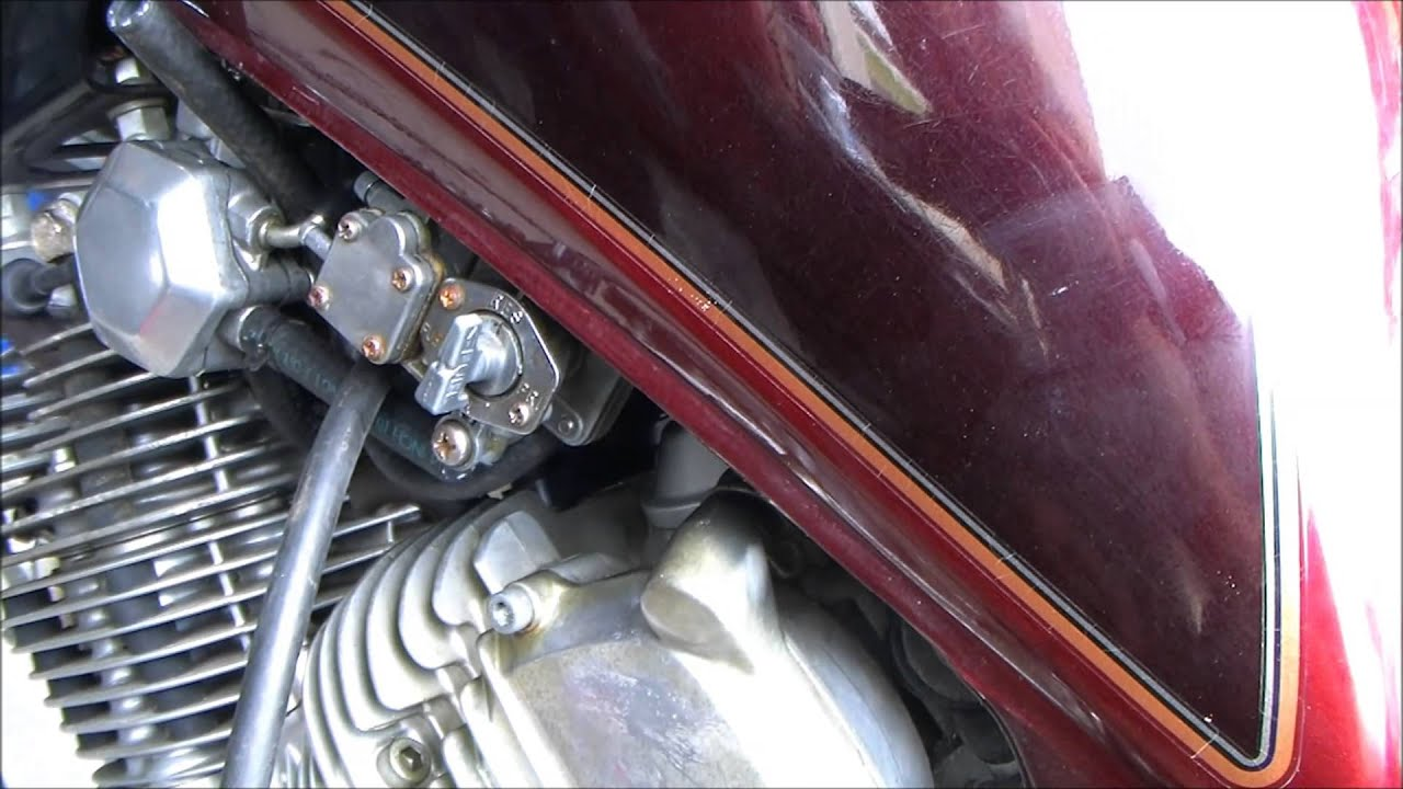 Yamaha Xv500k Fuel Vacuum Routing