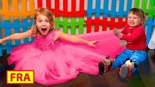 Cinq Enfants - Mania et Stefy veulent la même robe