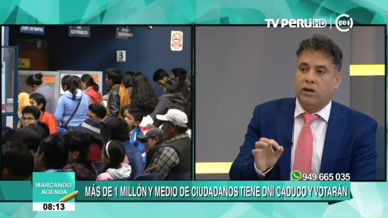 Reniec explica qué hacer si pierde el DNI 24 horas antes de elecciones | TVPerú