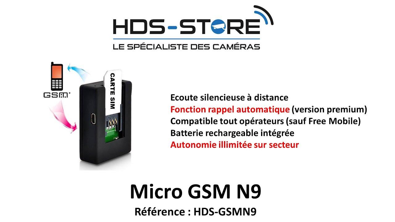 Top 3 Meilleur Micro Espion Gsm 12222