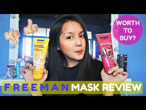 FREEMAN MASK REVIEW + GIVEAWAY ❤️ | HESTIA MELANI