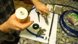как сделать поилки для кроликов в домашних