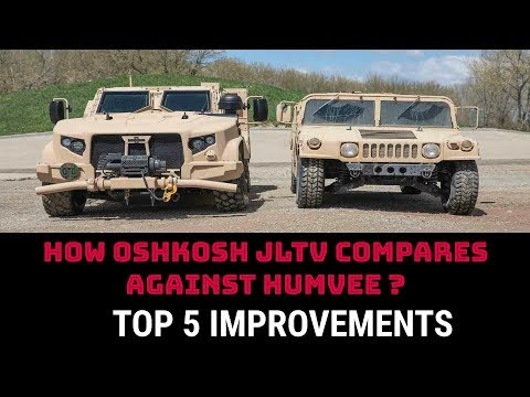 HOW OSHKOSH JLTV COMPARES AGAINST HUMVEE ?