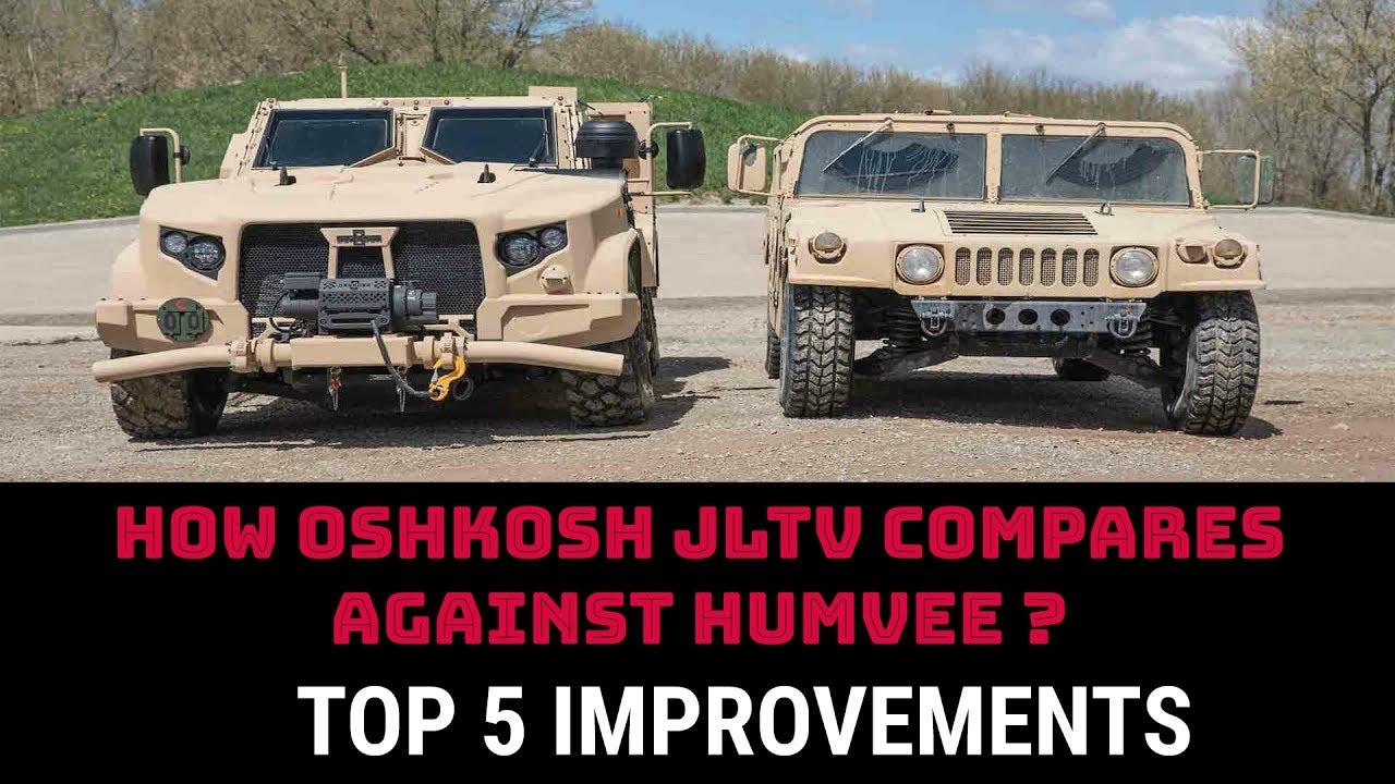 Oshkosh Truck Interior >> HOW OSHKOSH JLTV COMPARES AGAINST HUMVEE ? - YouTube