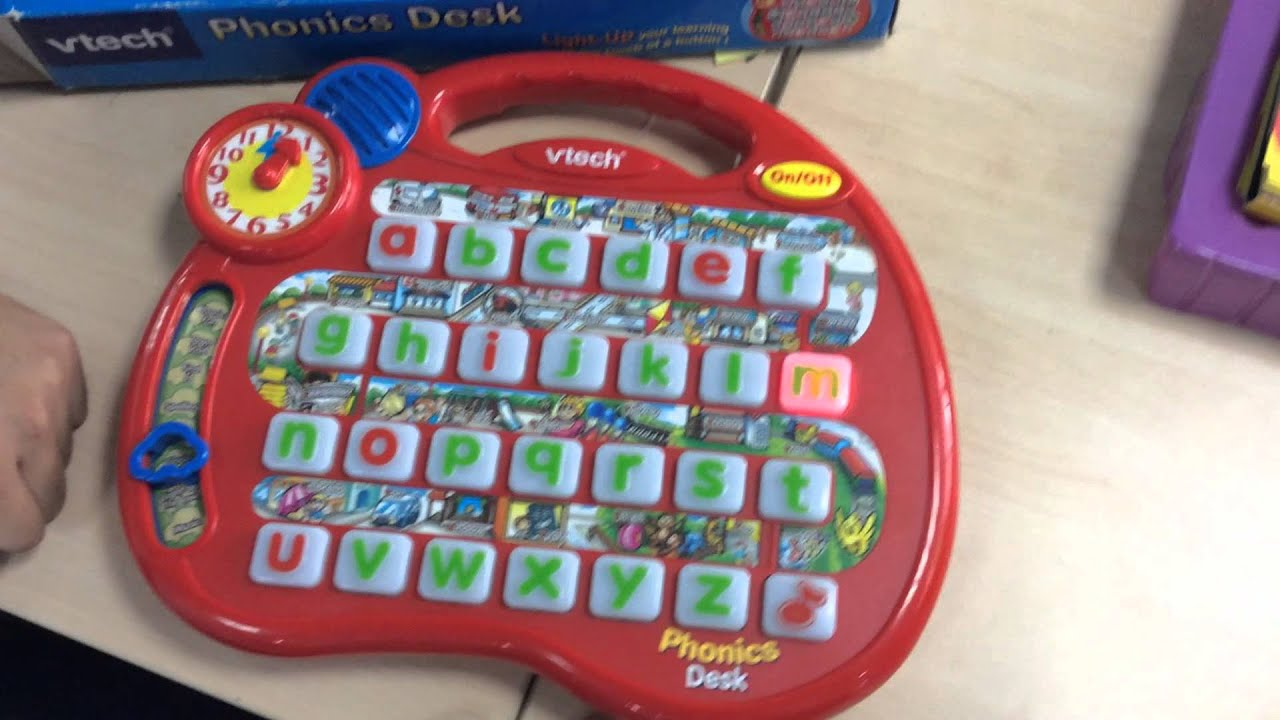 Phonics Desk Youtube