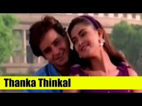 Malayalam Song - Thanka Thinkal - Indraprastham - Starring Mammootty, Simran, Prakash Raj, Vikram
