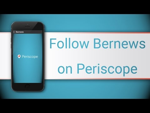 Follow Bernews On Periscope For Live Video